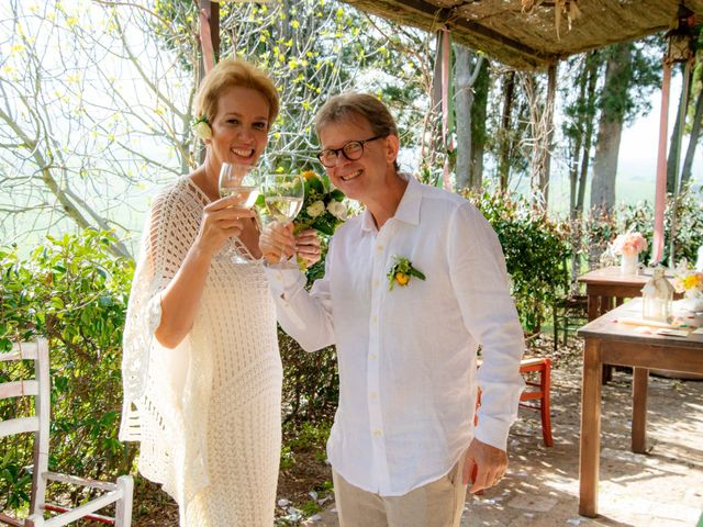 Il matrimonio di Fred e Christina a Volterra, Pisa 25