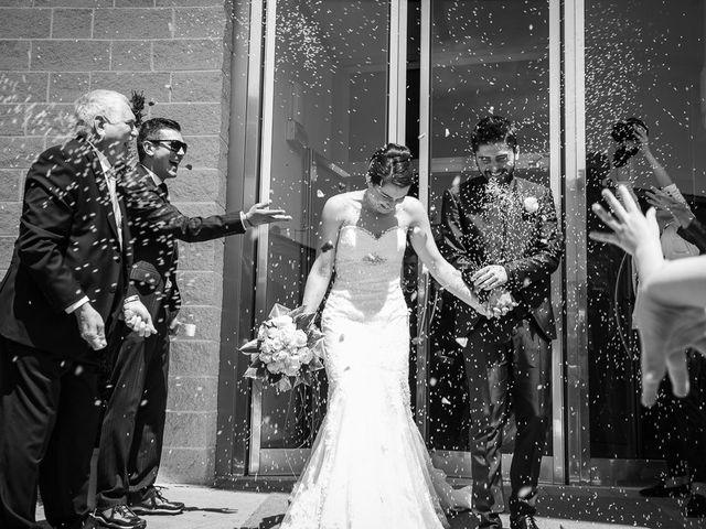 le nozze di Federica e Antonio