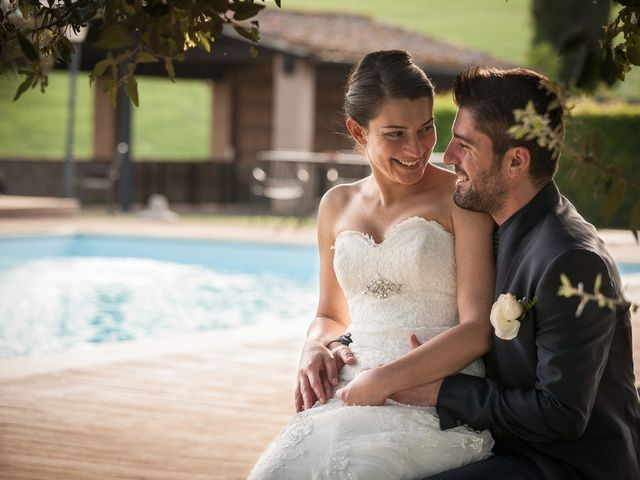 Il matrimonio di Antonio e Federica a Lajatico, Pisa 1