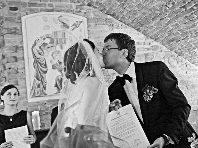 Il matrimonio di Victoria e Vadim a Voghera, Pavia 20