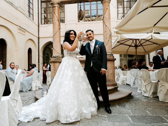 Il matrimonio di Alessio e Micaela a Verona, Verona 242