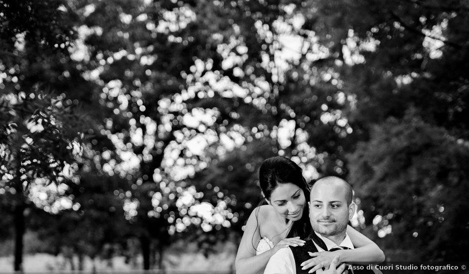 Il matrimonio di Raffaello e Debora a Cento, Ferrara