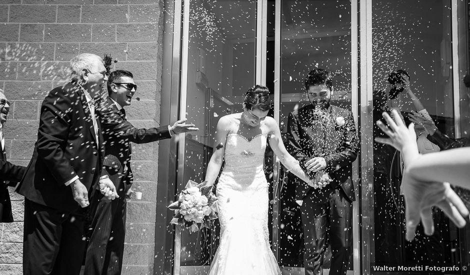 Il matrimonio di Antonio e Federica a Lajatico, Pisa