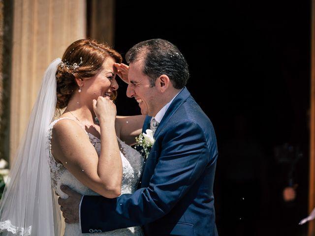 le nozze di Stefania e Daniele