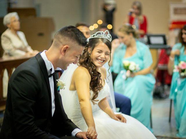 Le nozze di Samantha e Andrea