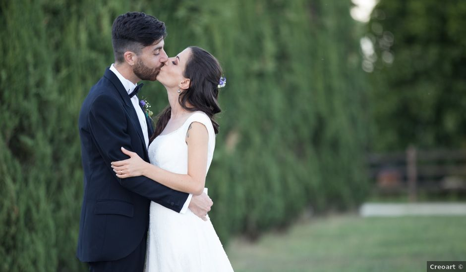 Il matrimonio di Valerio e Loredana a Roma, Roma