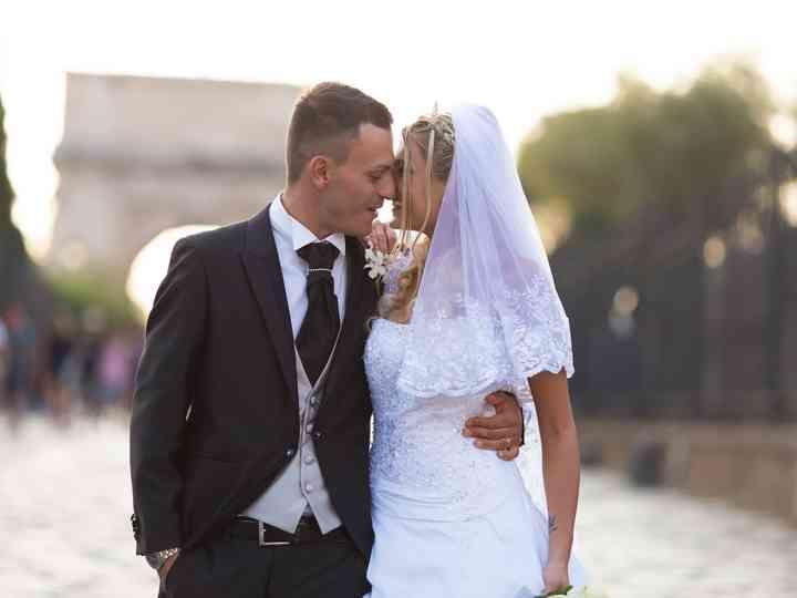 le nozze di Valentina e Valentino