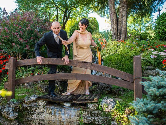 le nozze di Loredana e Massimo