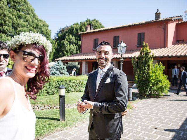 Il matrimonio di Matteo e Veronica a Labico, Roma 35