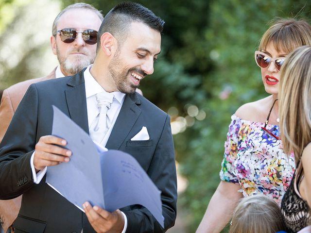 Il matrimonio di Matteo e Veronica a Labico, Roma 37