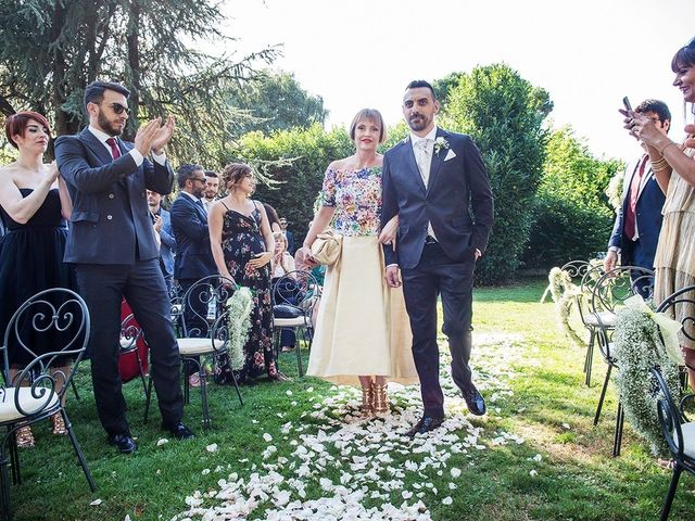 Il matrimonio di Matteo e Veronica a Labico, Roma 40