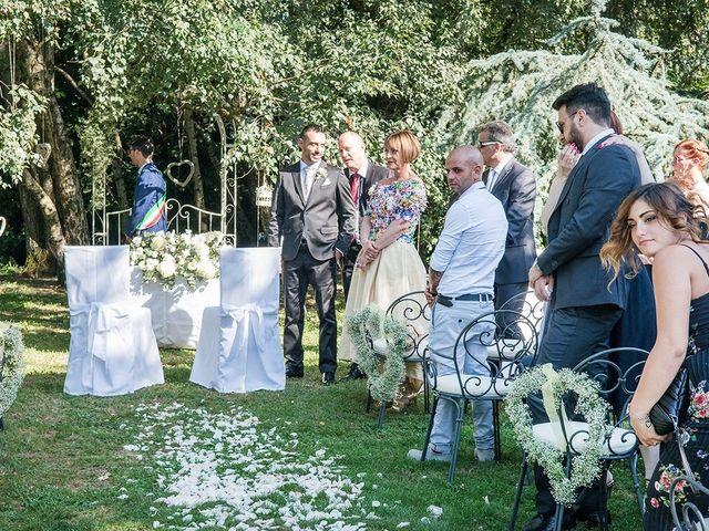 Il matrimonio di Matteo e Veronica a Labico, Roma 41