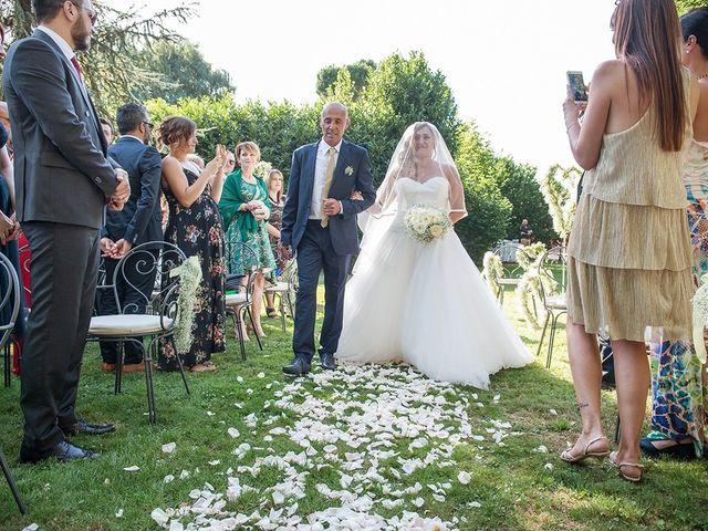 Il matrimonio di Matteo e Veronica a Labico, Roma 42