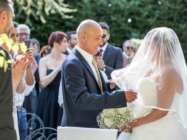 Il matrimonio di Matteo e Veronica a Labico, Roma 43