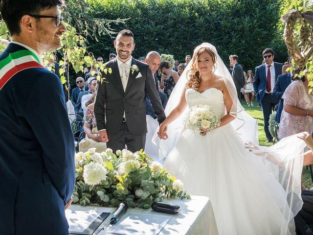 Il matrimonio di Matteo e Veronica a Labico, Roma 44