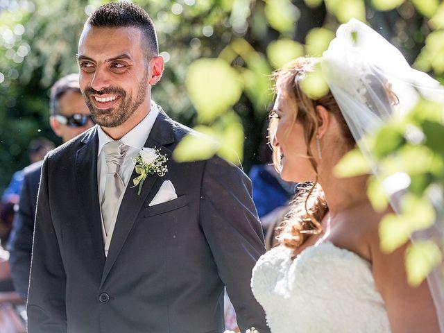 Il matrimonio di Matteo e Veronica a Labico, Roma 45