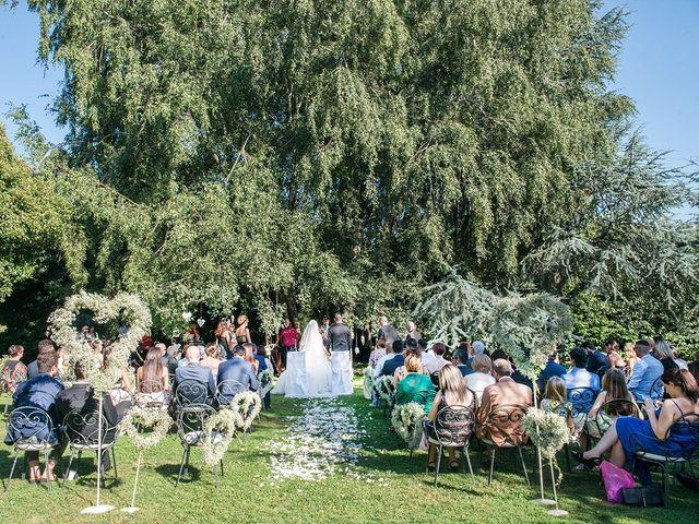 Il matrimonio di Matteo e Veronica a Labico, Roma 46