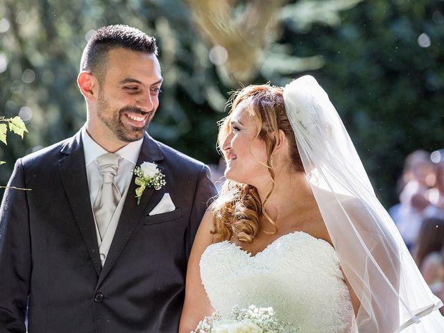 Il matrimonio di Matteo e Veronica a Labico, Roma 47