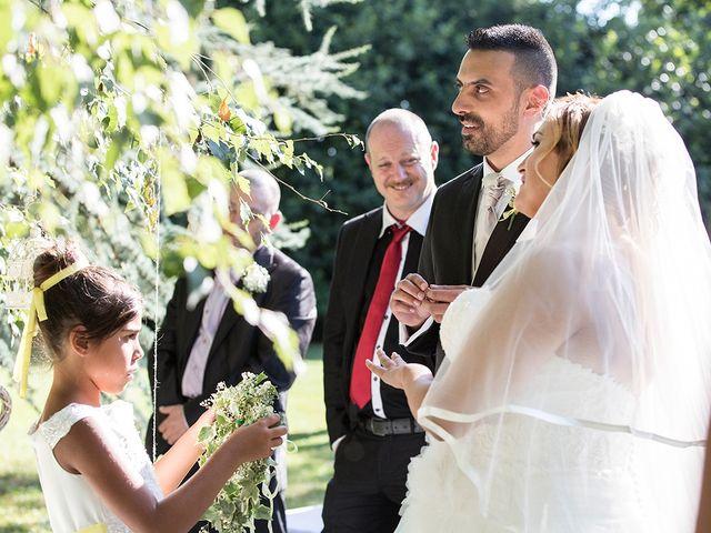 Il matrimonio di Matteo e Veronica a Labico, Roma 51