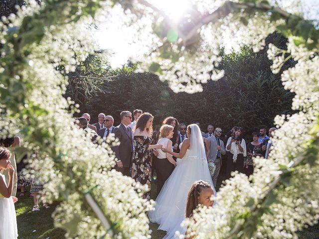 Il matrimonio di Matteo e Veronica a Labico, Roma 55
