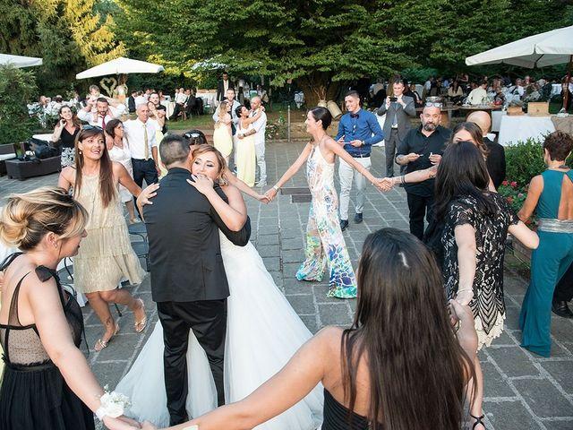 Il matrimonio di Matteo e Veronica a Labico, Roma 64