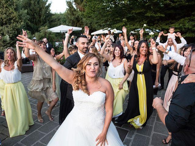 Il matrimonio di Matteo e Veronica a Labico, Roma 66