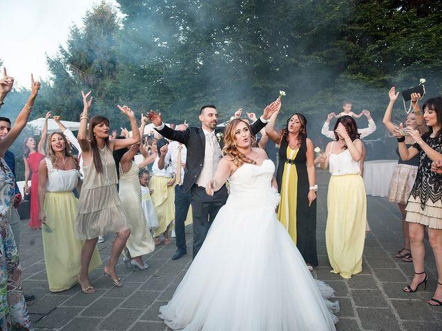 Il matrimonio di Matteo e Veronica a Labico, Roma 67
