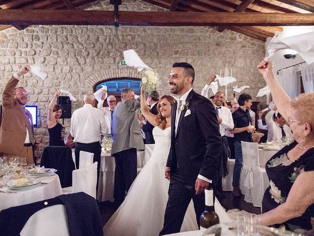 Il matrimonio di Matteo e Veronica a Labico, Roma 68