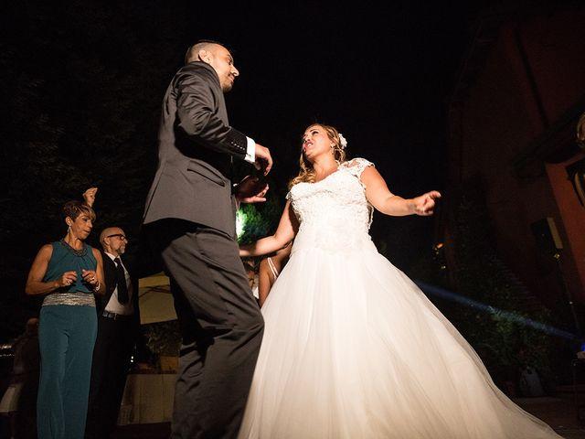 Il matrimonio di Matteo e Veronica a Labico, Roma 79
