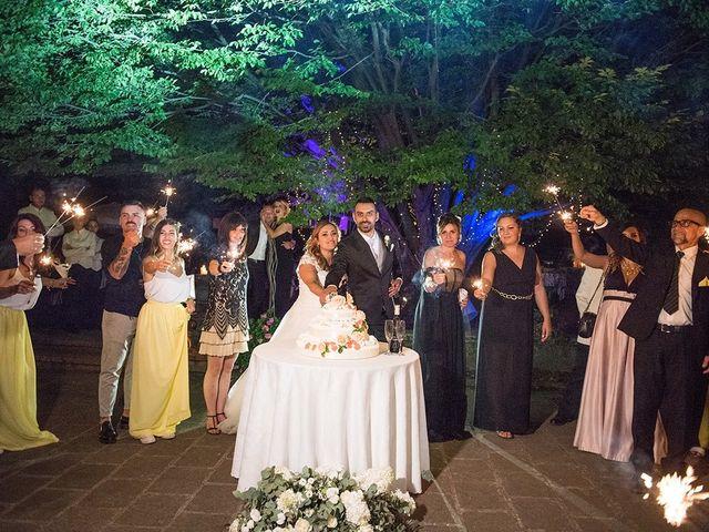 Il matrimonio di Matteo e Veronica a Labico, Roma 83