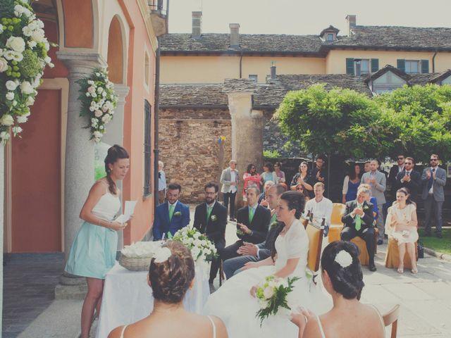 Il matrimonio di Marco e Federica a Orta San Giulio, Novara 17