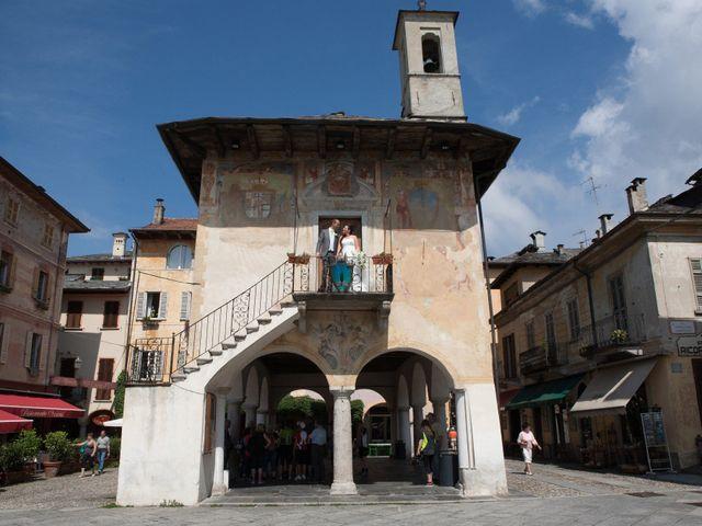 Il matrimonio di Marco e Federica a Orta San Giulio, Novara 20
