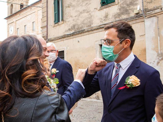Il matrimonio di Fabio e Sabina a Castelfidardo, Ancona 12