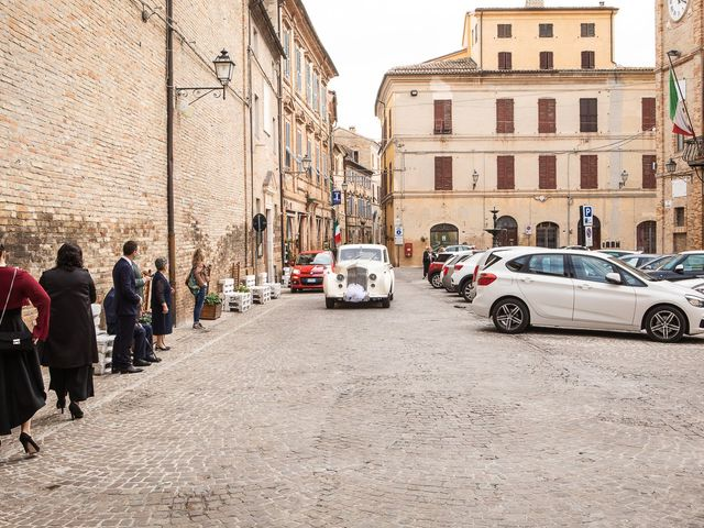 Il matrimonio di Fabio e Sabina a Castelfidardo, Ancona 15