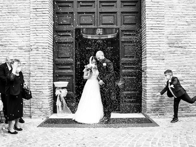 Il matrimonio di Fabio e Sabina a Castelfidardo, Ancona 35