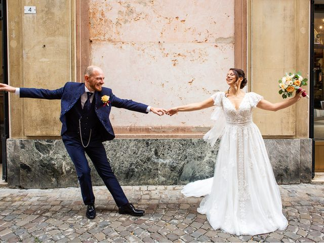 Il matrimonio di Fabio e Sabina a Castelfidardo, Ancona 37