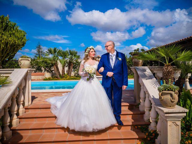 Il matrimonio di Sara e Agostino a Marsala, Trapani 16