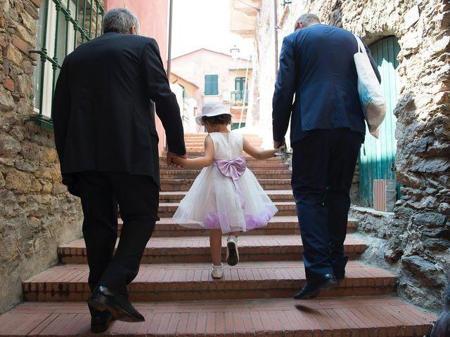 Il matrimonio di Corrado e Sabrina a Ameglia, La Spezia 8