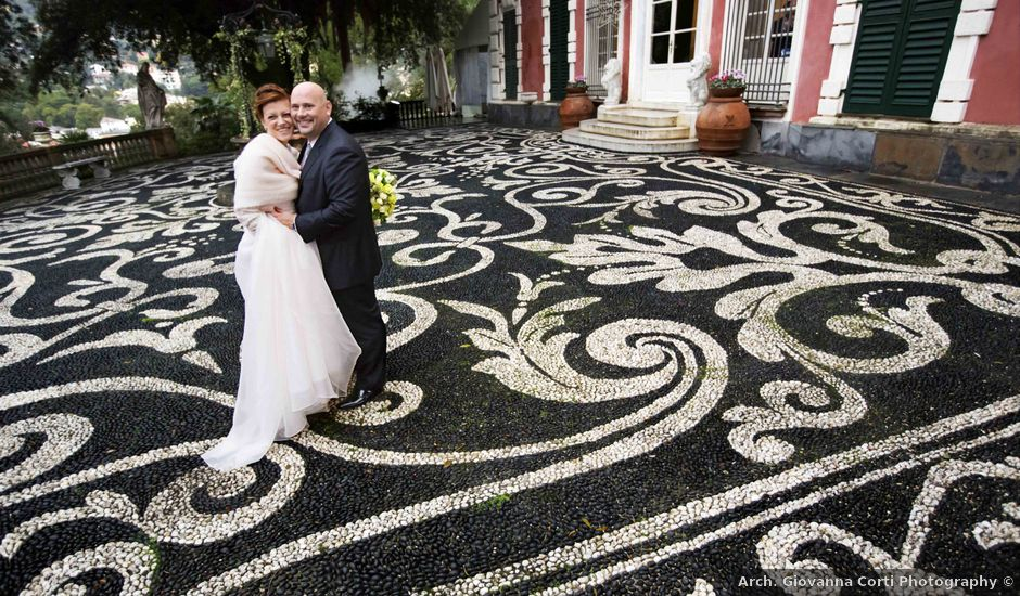 Il matrimonio di Luca e Manuela a Santa Margherita Ligure, Genova