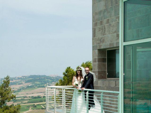 Il matrimonio di Vincenzo e Chiara a Tolentino, Macerata 7