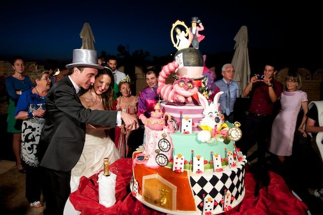 Matrimonio Tema Alice In Wonderland : Il matrimonio di fabrizio e alice a godiasco pavia