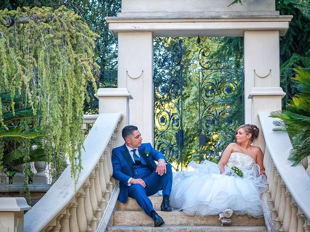le nozze di Melissa e Daniele