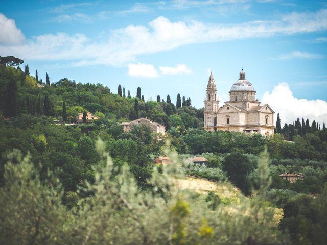 Il matrimonio di Simone e Oretta a Montepulciano, Siena 1