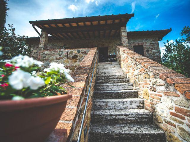 Il matrimonio di Simone e Oretta a Montepulciano, Siena 3