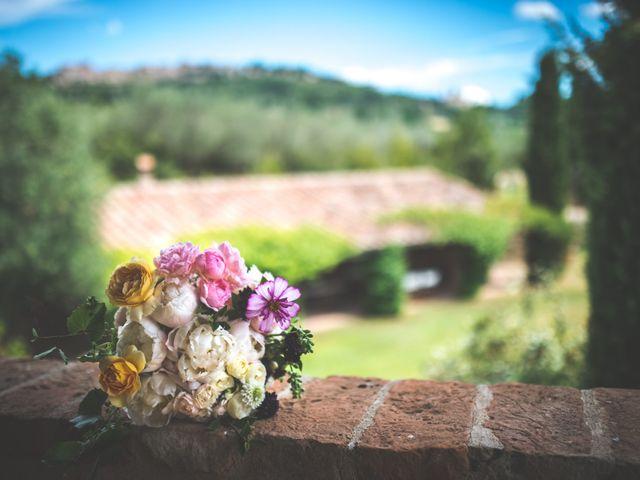 Il matrimonio di Simone e Oretta a Montepulciano, Siena 8
