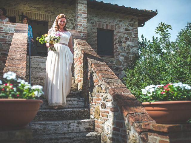 Il matrimonio di Simone e Oretta a Montepulciano, Siena 20