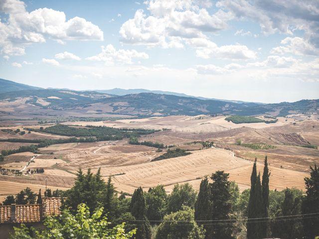 Il matrimonio di Simone e Oretta a Montepulciano, Siena 21