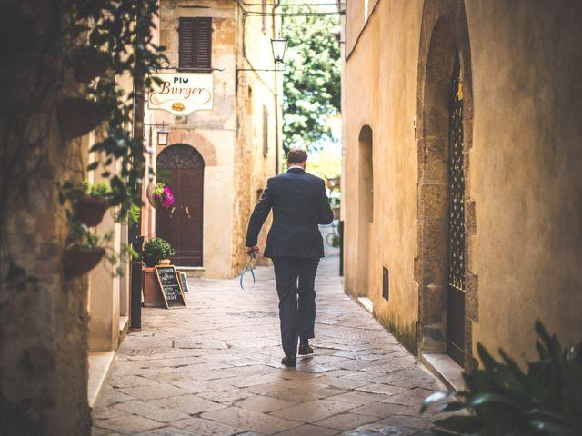 Il matrimonio di Simone e Oretta a Montepulciano, Siena 25