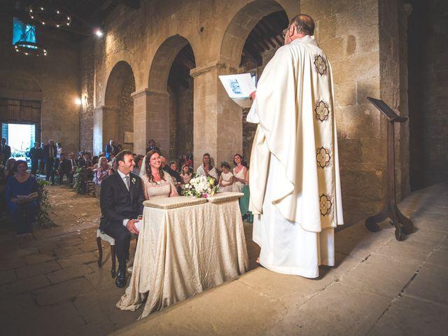 Il matrimonio di Simone e Oretta a Montepulciano, Siena 32