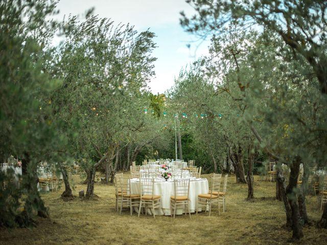 Il matrimonio di Simone e Oretta a Montepulciano, Siena 40